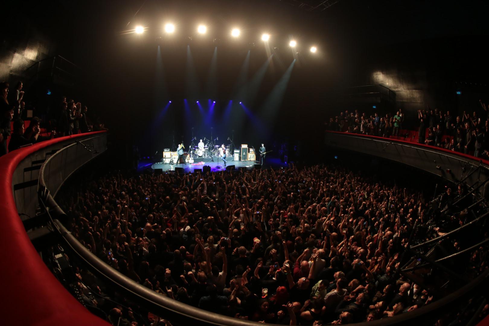 La salle de l'Olympia était comble pour accueillir Eagles of Death Metal