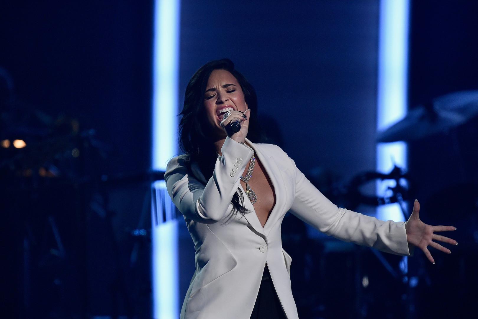 La chanteuse américaine Demi Lovato