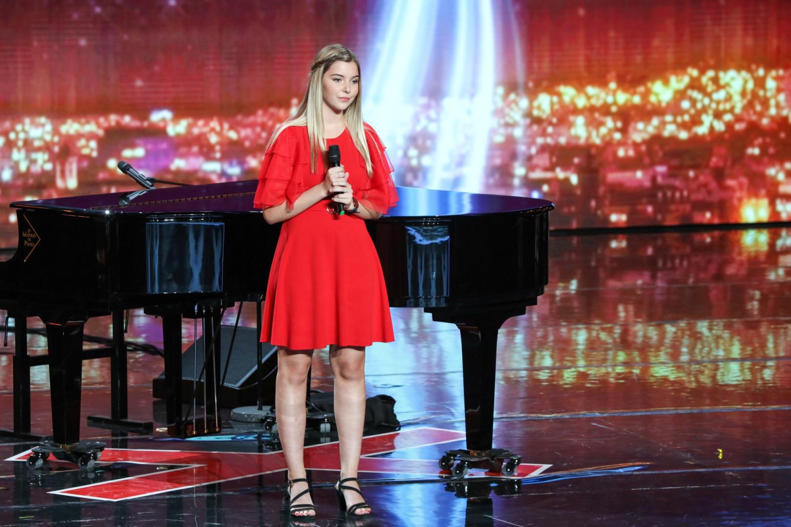 La chanteuse Lisa Dann