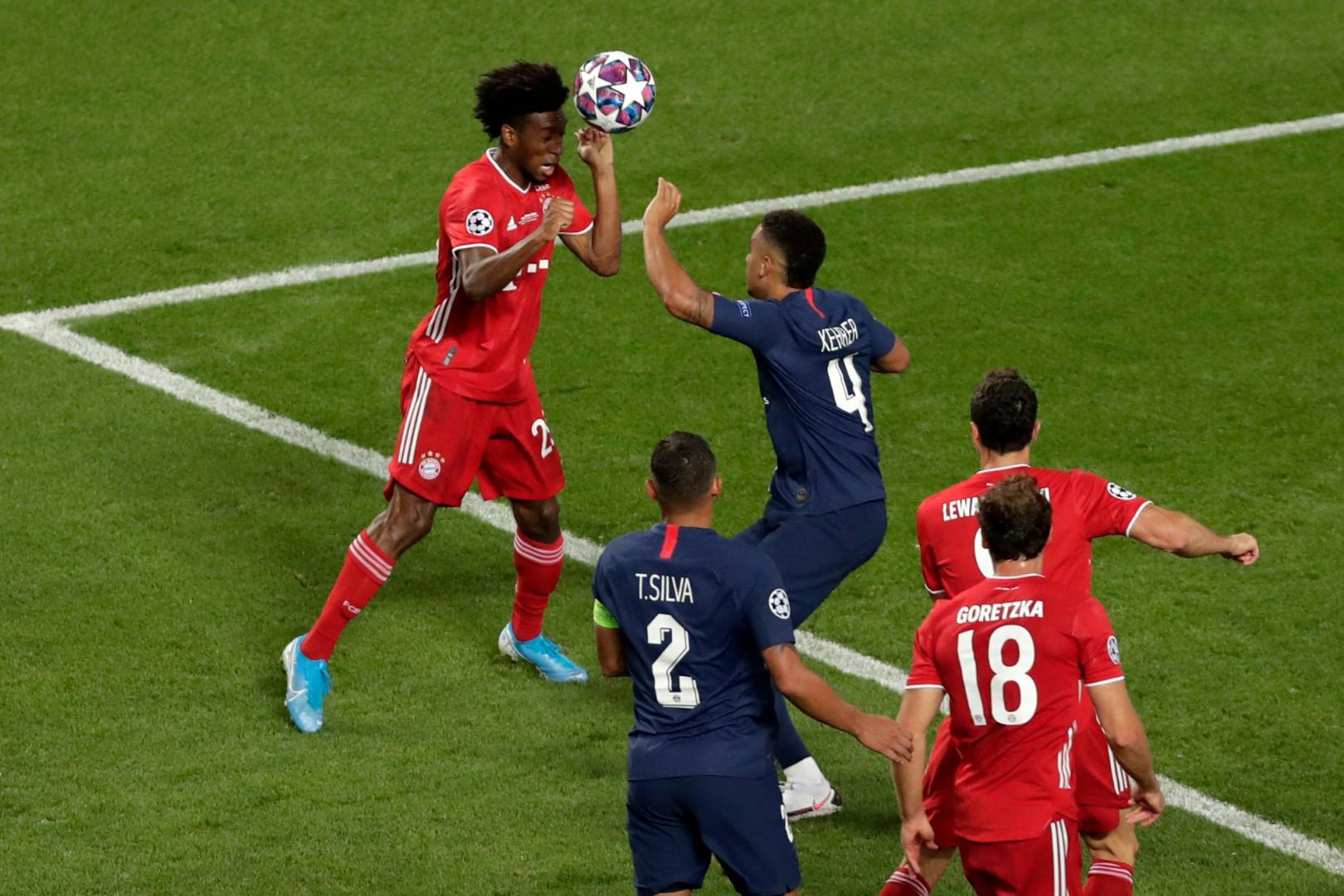 23 août : Kingsley Coman offre la victoire au Bayern Munich en finale face au Parisiens