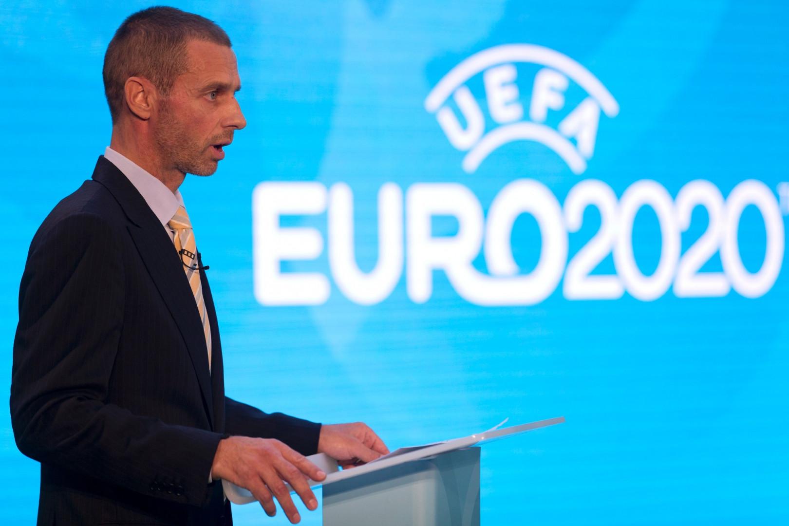 17 mars 2020 : le président de l'Uefa Aleksander Ceferin officialise le report de l'Euro à 2021