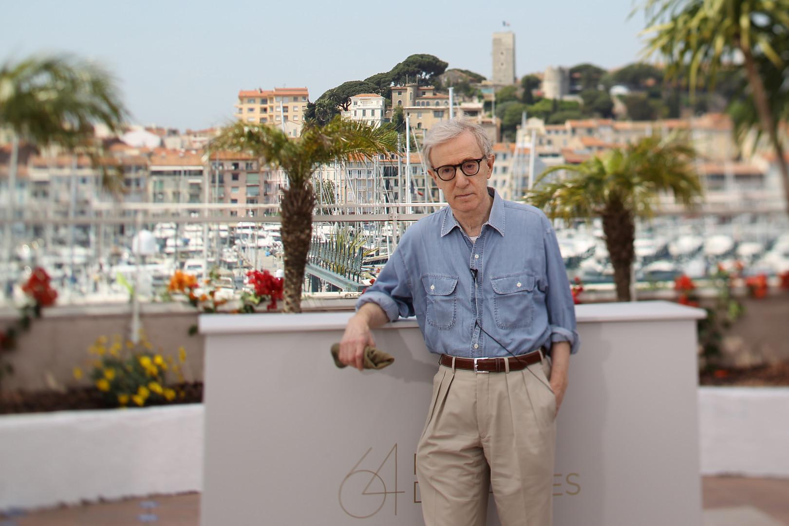 Woody Allen lors de la 64e édition du Festival de Cannes
