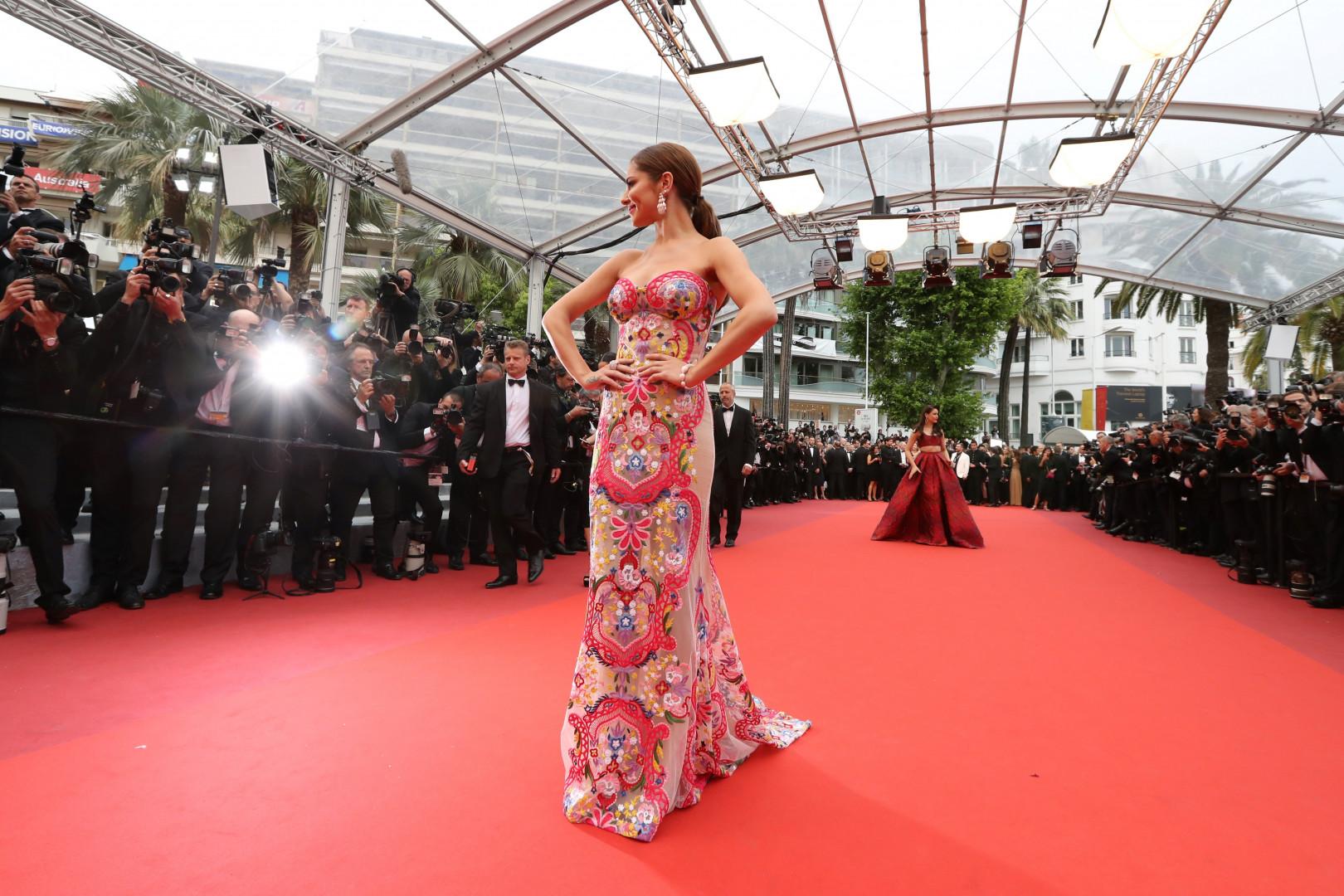 La chanteuse britannique Cheryl Cole, le 13 mai 2016, au Festival de Cannes.