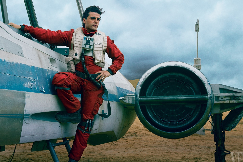 Poe Dameron est le talentueux pilote X-wing de l'histoire