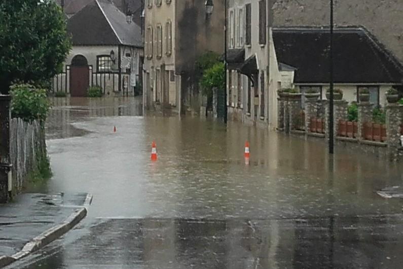 Le village de Beton-Bazoches (en Seine-et-Marne) le 2 juin 2016
