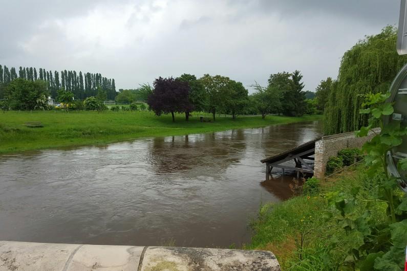 Inondations à Chécèy (Loiret) le 2 juin 2016