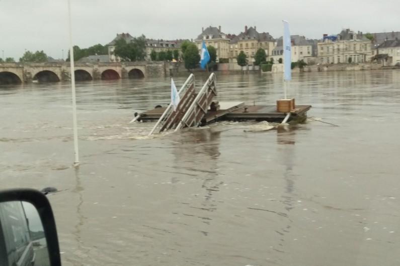 La Loire est sortie de son lit, le 3 juin 2016