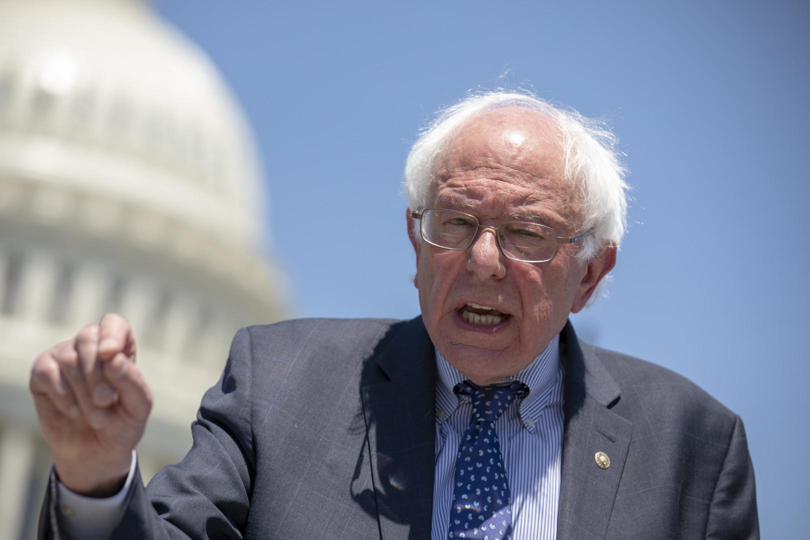 Le sénateur indépendant Bernie Sanders.