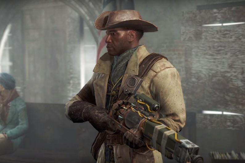 """""""Fallout 4"""", un jeu post apocalyptique qui se déroule dans une atmosphère de science-fiction version 50's"""