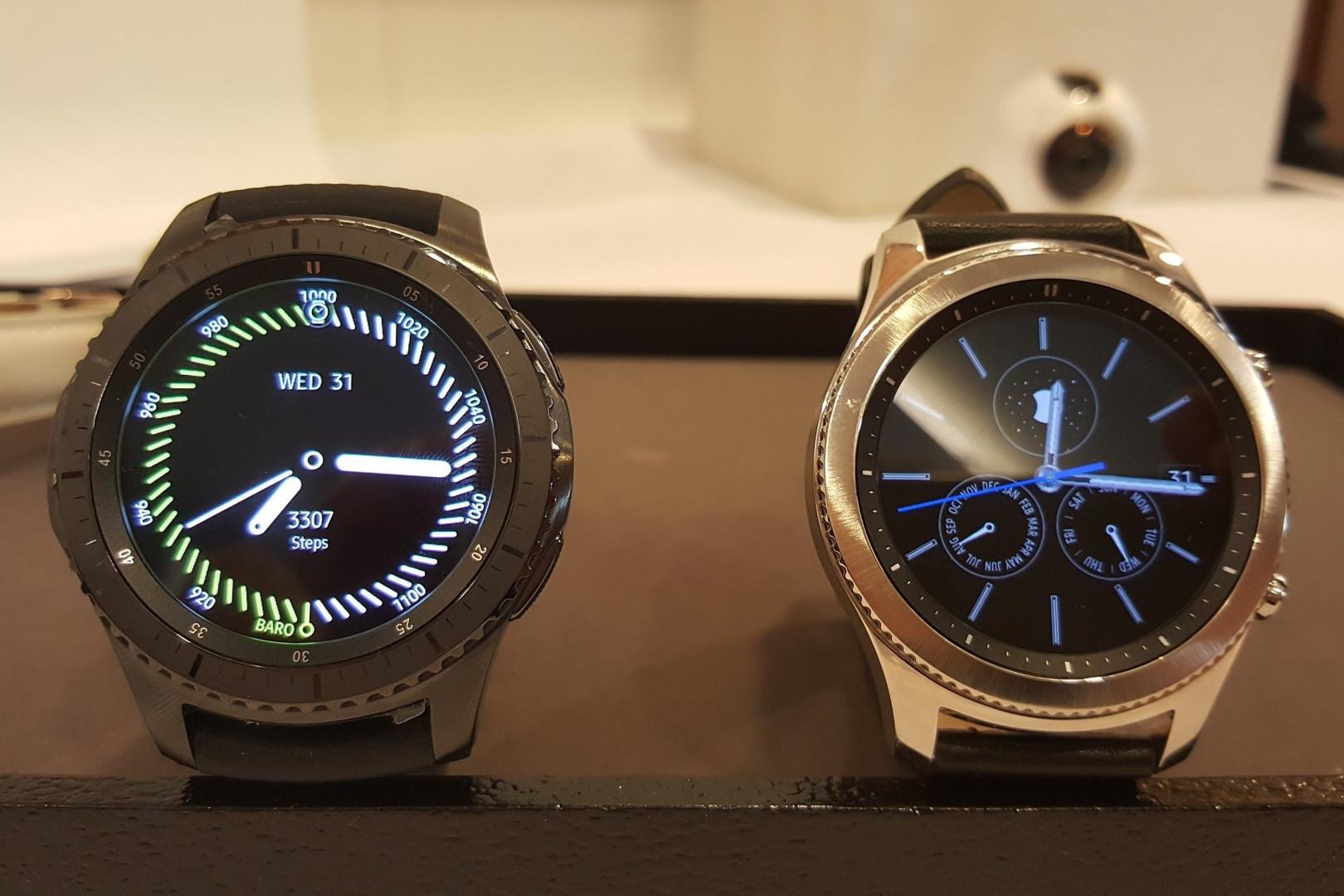 La nouvelle montre Gear S3 de Samsung