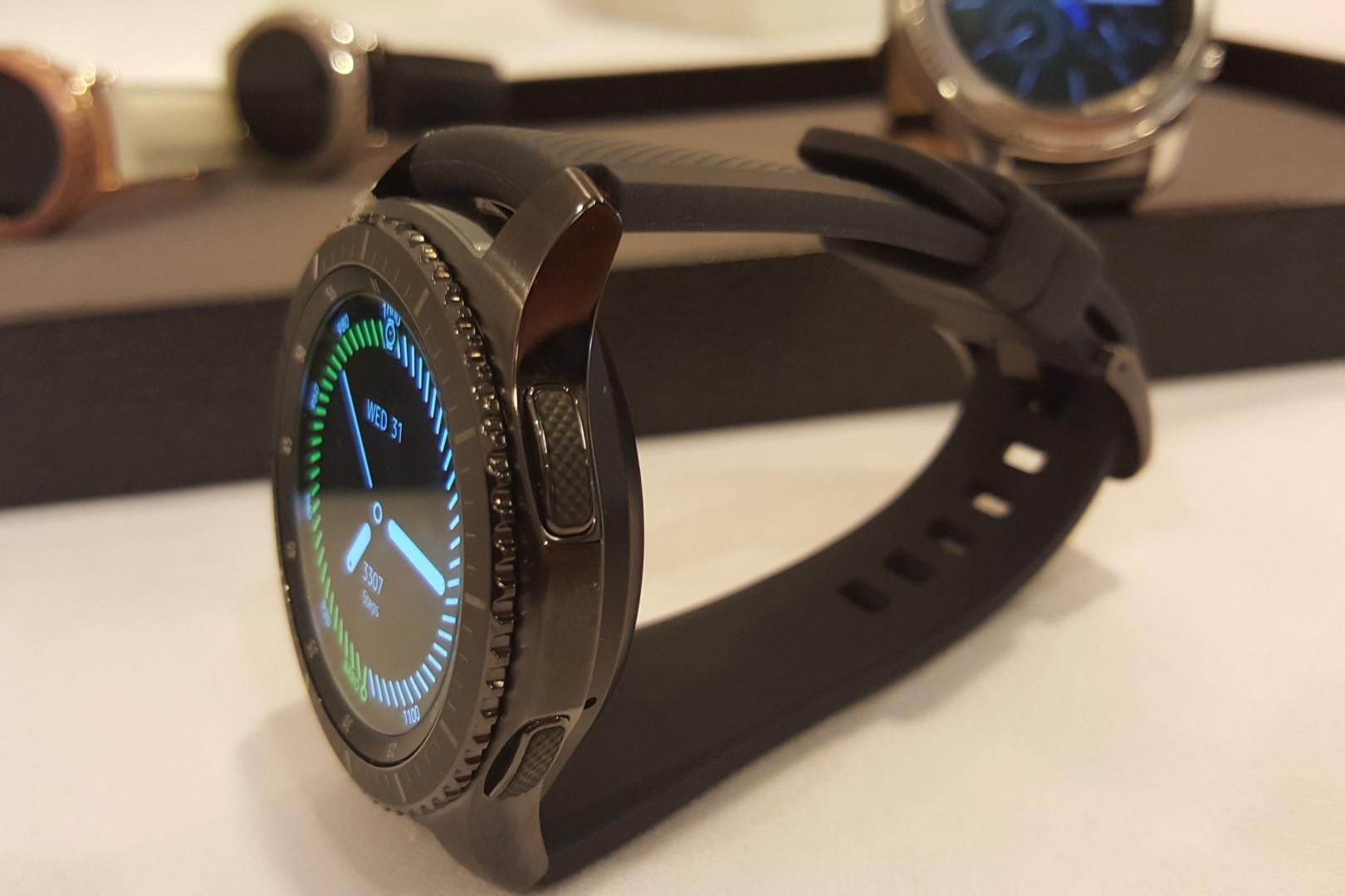 La nouvelle montre Gear S3 Frontier de Samsung