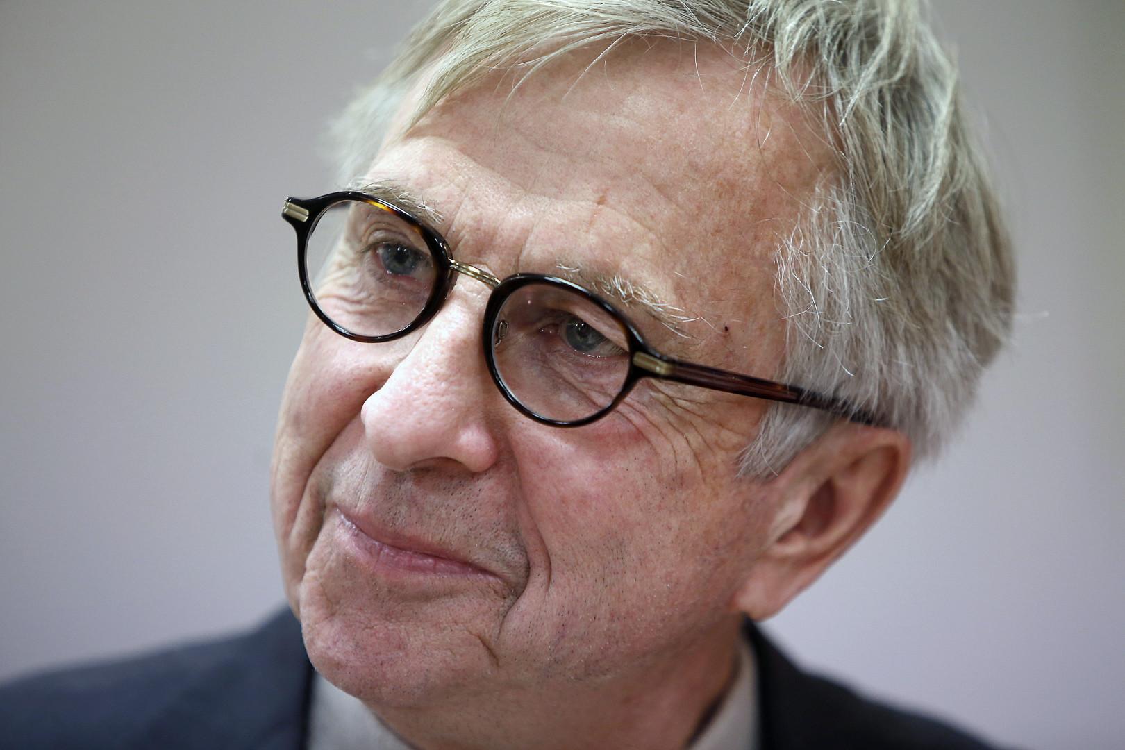 Jean-Pierre Masseret, sénateur socialiste et soutien d'Emmanuel Macron menacé d'exclusion du PS