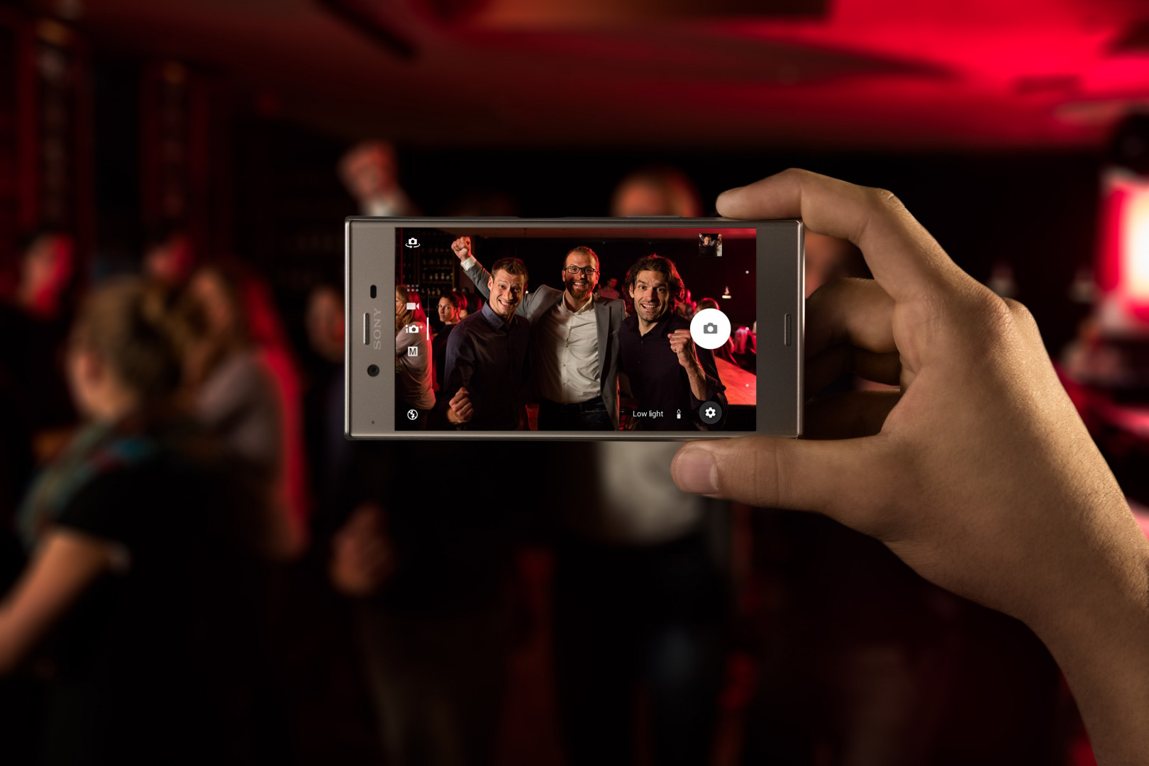 Le Sony Xperia XZ est équipé d'un triple capteur photo