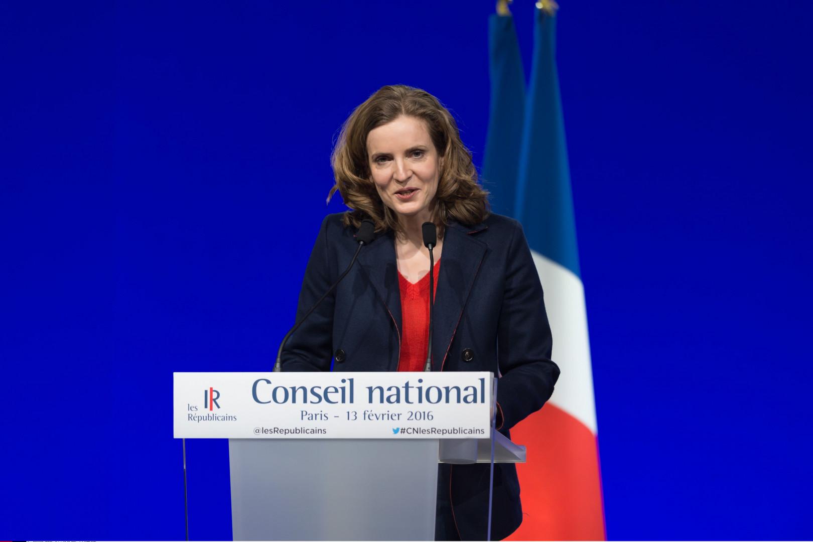 Nathalie Kosciusko-Morizet, ancienne ministre de l'Écologie et porte-parole de Nicolas Sarkozy