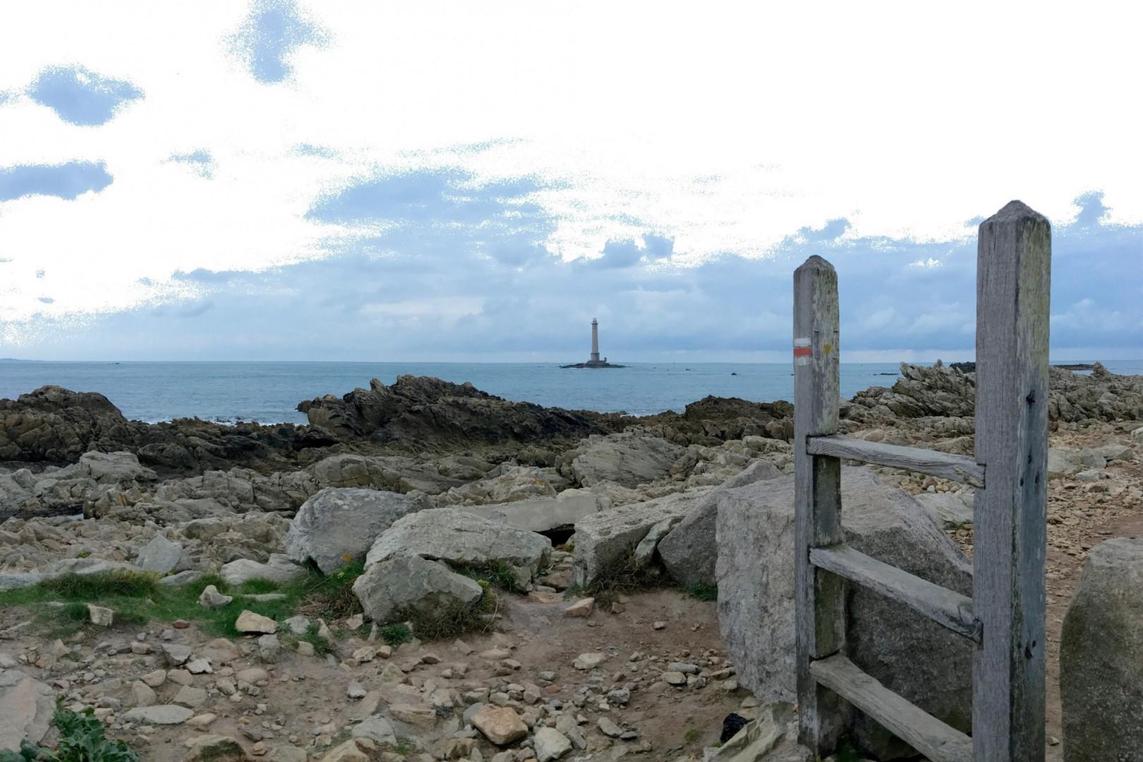 Le phare de Goury au bout de la Hague.
