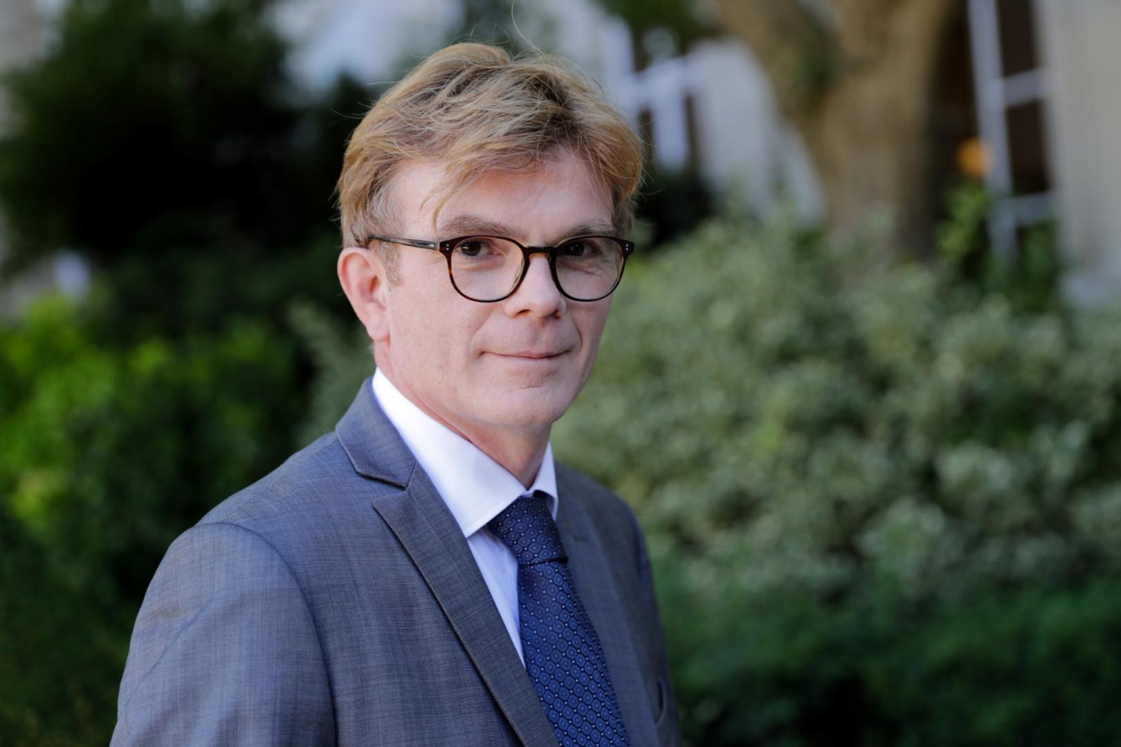 Marc Fesneau, ministre délégué aux Relations avec le Parlement, est l'un des quatre ministres tête de liste. Il brigue la présidence de la région Centre-Val-de-Loire.