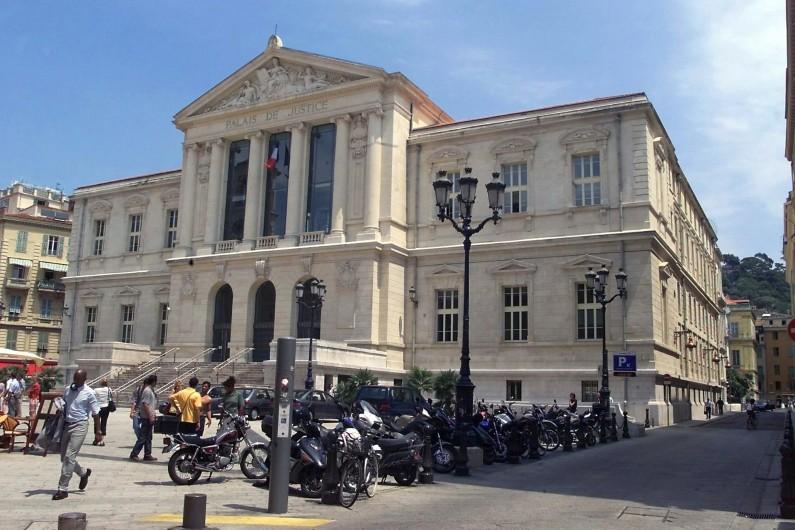 Le palais de Justice de Nice (illustration)