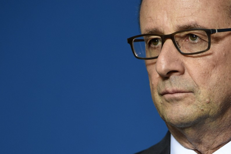 François Hollande le 10 novembre 2016 à Nancy