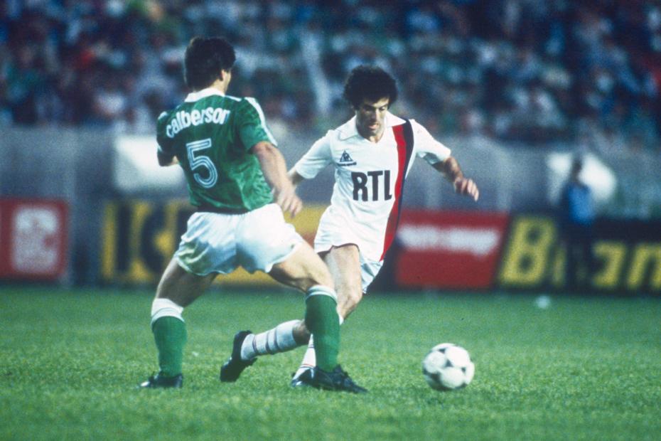Mustapha Dahleb a inscrit 98 buts sous les couleurs du PSG entre 1974 et 1984