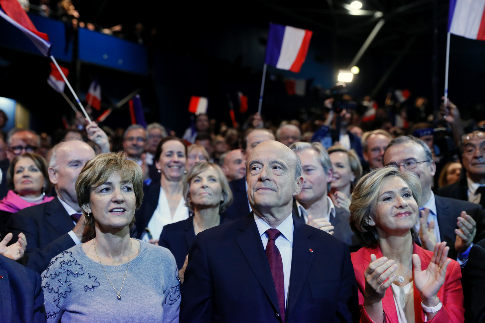 Alain Juppé et Valérie Pécresse, le 14 novembre 2016