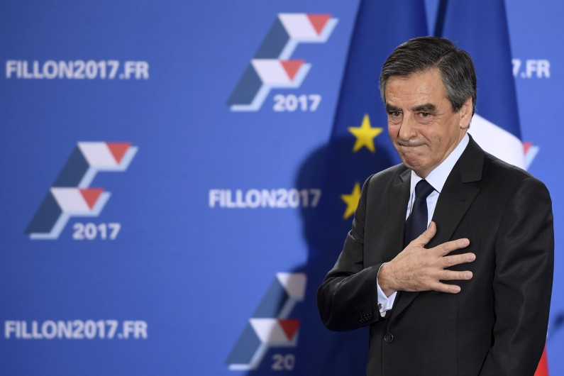 François Fillon au soir de sa victoire à la primaire de la droite, le 27 novembre 2016