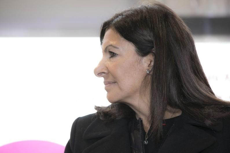 La maire de Paris, Anne Hidalgo