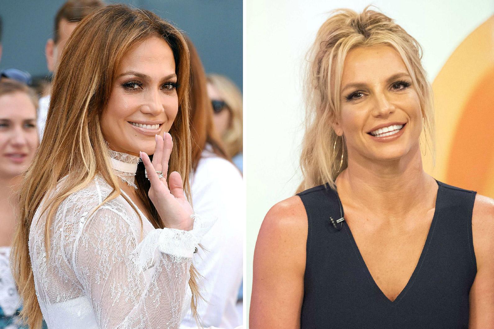 Jennifer Lopez et Britney Spears vous souhaitent une bonne année 2017 !