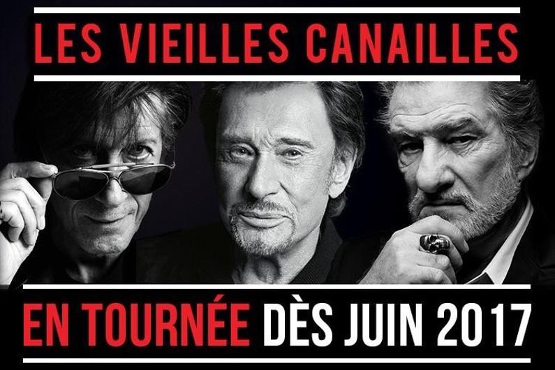 L'affiche de la tournée des Vieilles Canailles en 2017