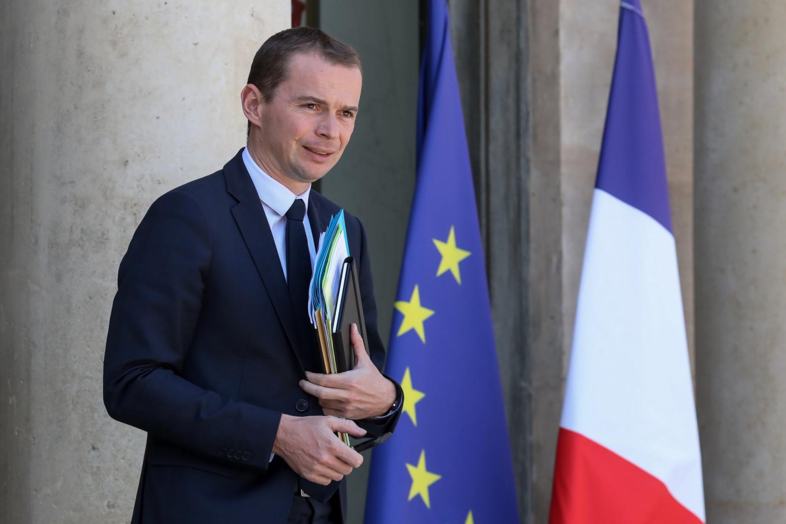 Olivier Dussopt, ministre chargé du Budget.