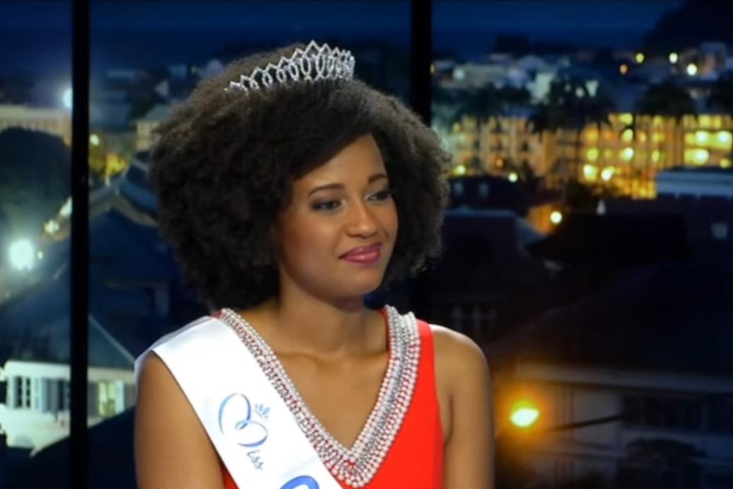 Héléneschka Horth, élue Miss Guyane 2020