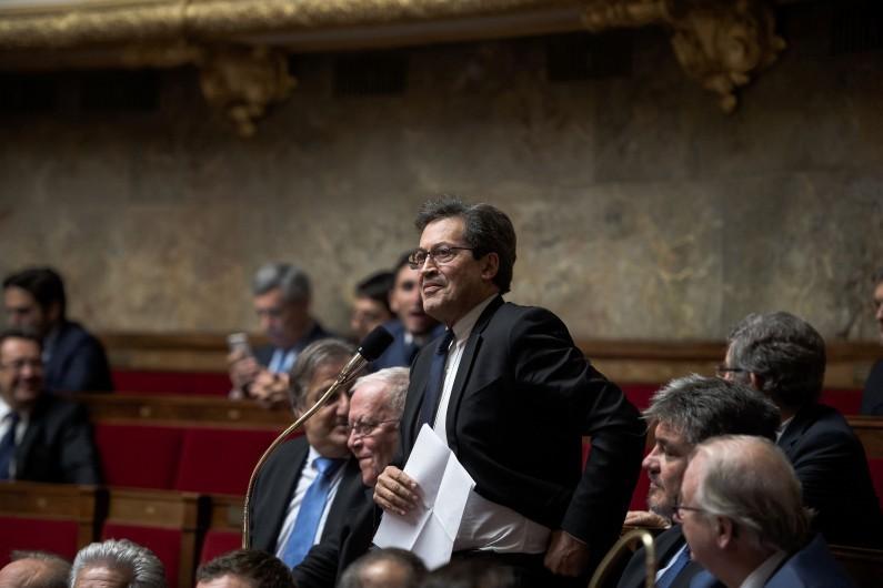 Le député LR du Rhône Georges Fenech à l'Assemblée nationale, le 22 novembre 2016