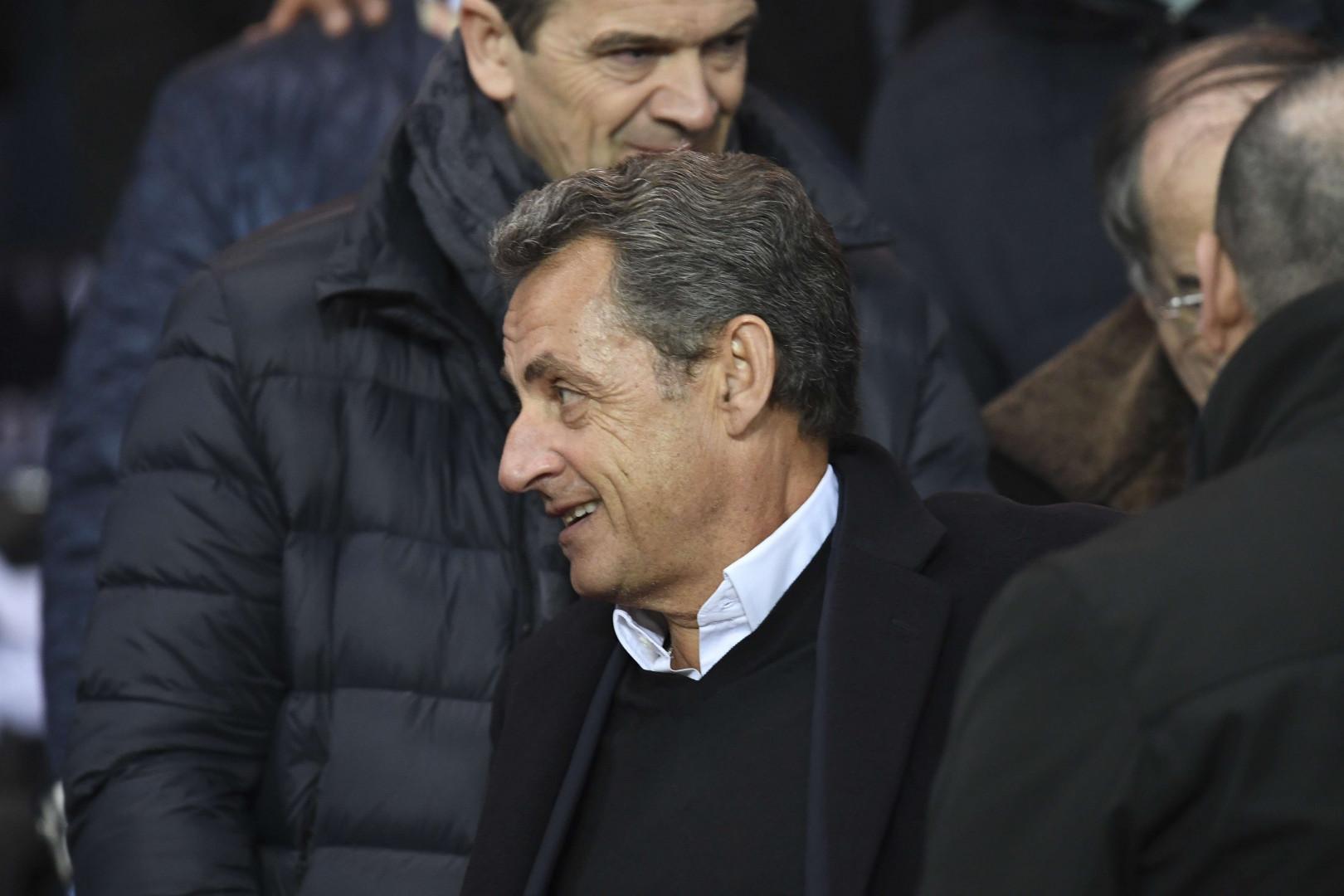 Nicolas Sarkozy en habitué des lieux pour ce PSG-Barcelone le 14 février 2017