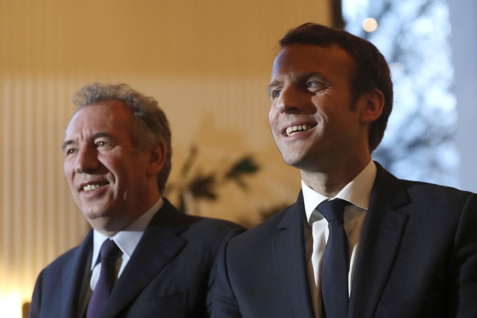 François Bayrou et Emmanuel Macron scellent leur alliance, le 23/02/2017