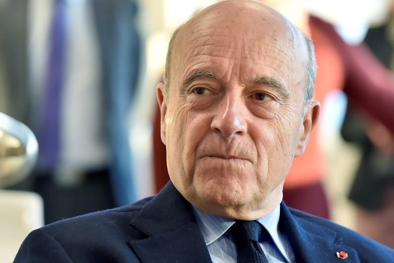 Alain Juppé à Bordeaux, le 2 décembre 2016