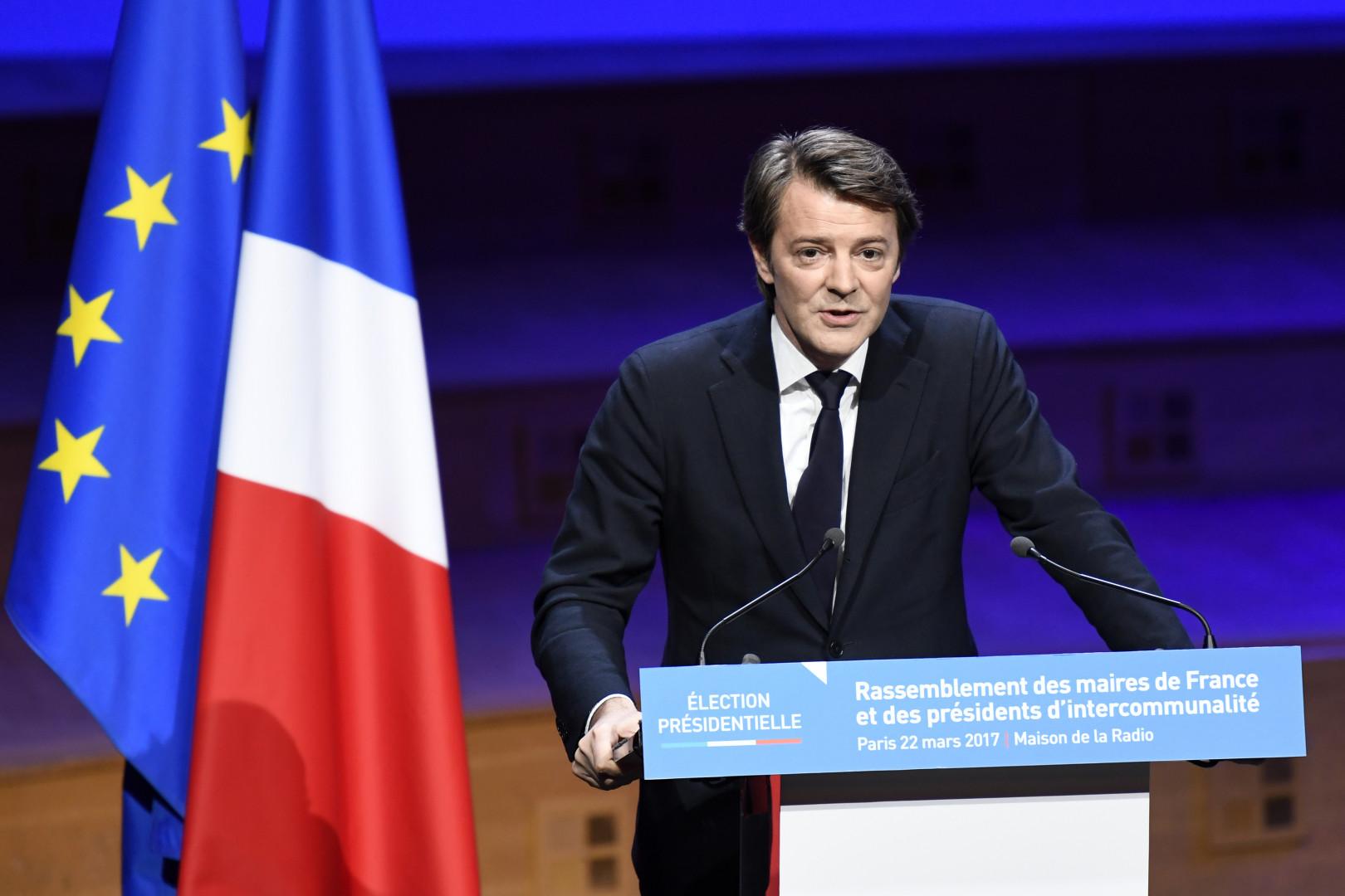 François Baroin, président de l'association des maires de France, le 22 mars 2017