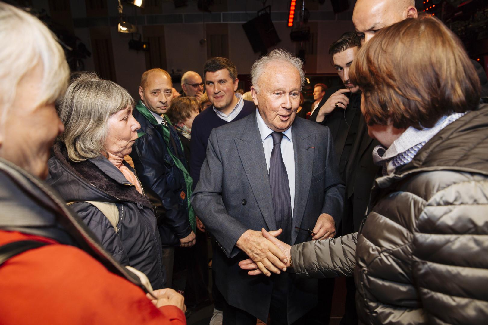 Philippe Bouvard crédit : Lewis Joly / Sipa press pour RTL