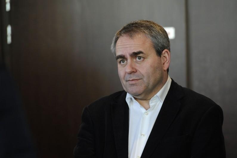 Xavier Bertrand, président LR des Hauts-de-France - Nord-Pas-de-Calais Picardie
