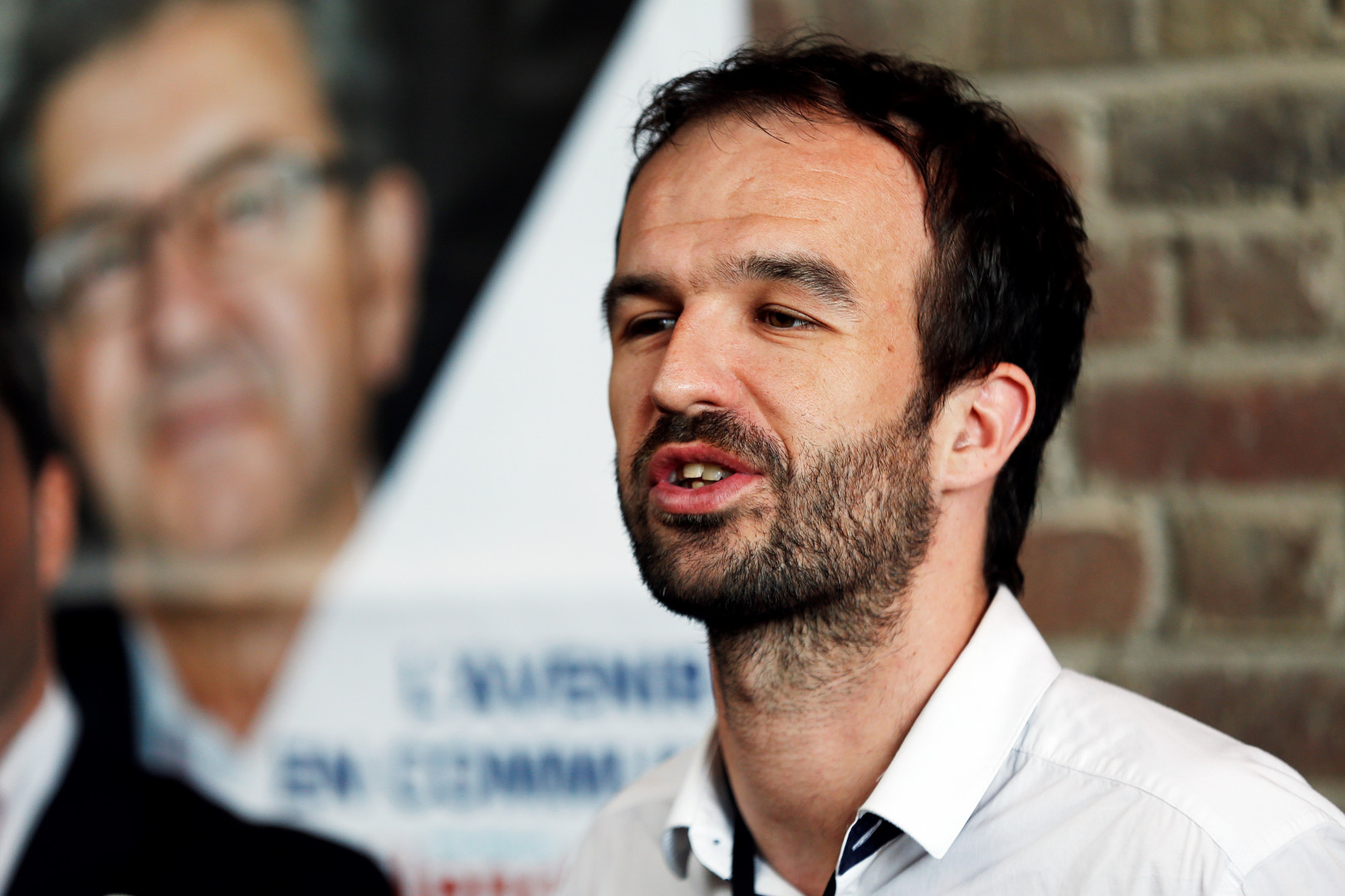 Manuel Bompard, directeur de campagne de Jean-Luc Mélenchon