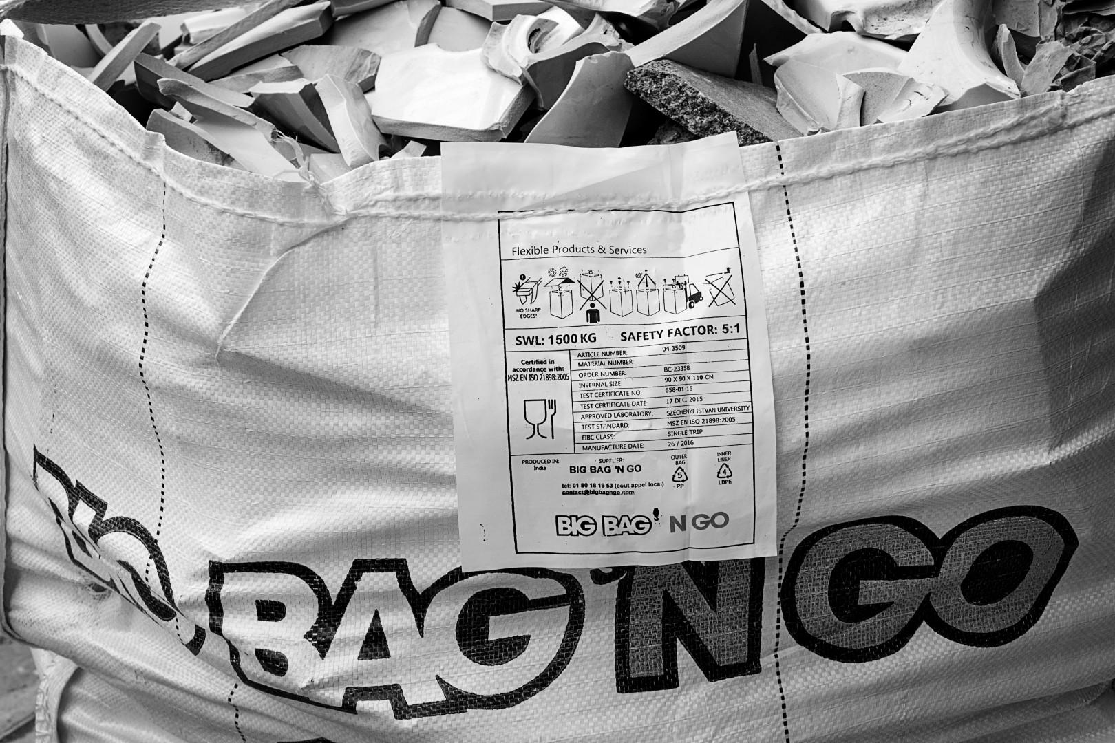 Le sac à déchets Big Bag'n Go