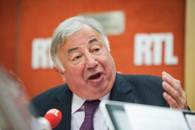 Gérard Larcher, Président du Sénat, le 24 avril 2017