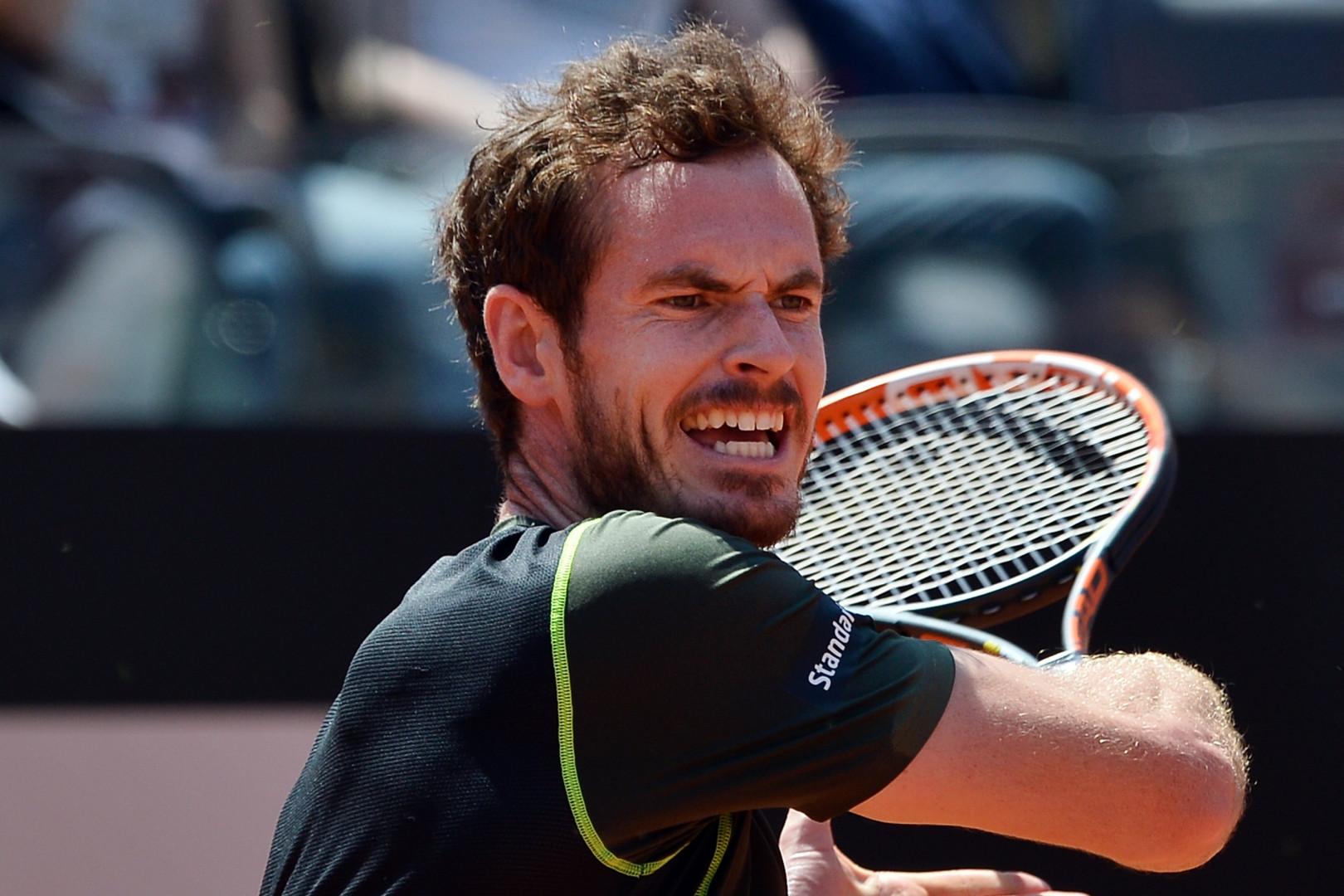 Andy Murray arrive Porte d'Auteuil en tant que numéro 1 mondial.