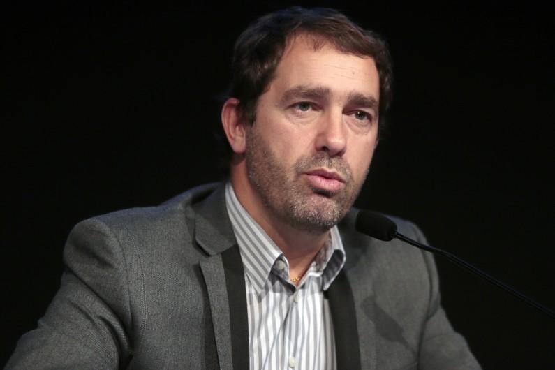 Christophe Castaner, secrétaire d'État en charge des Relations avec le Parlement, porte-parole du gouvernement