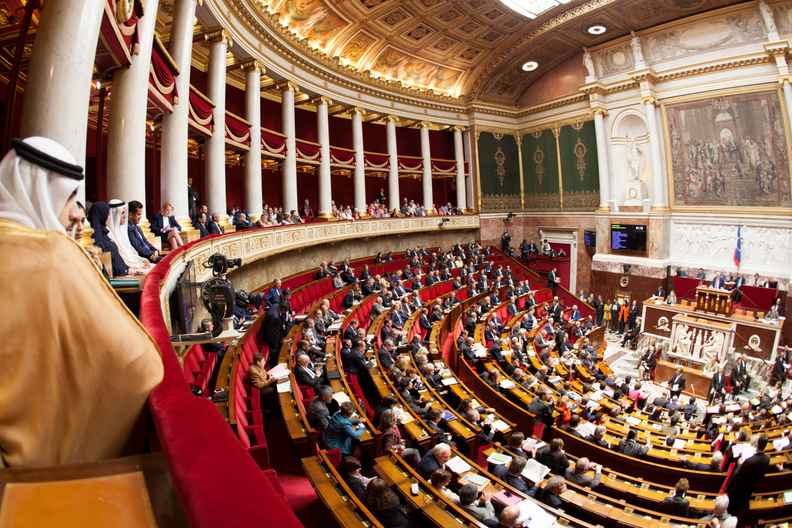 Des députés à l'Assemblée nationale (image d'illustration)