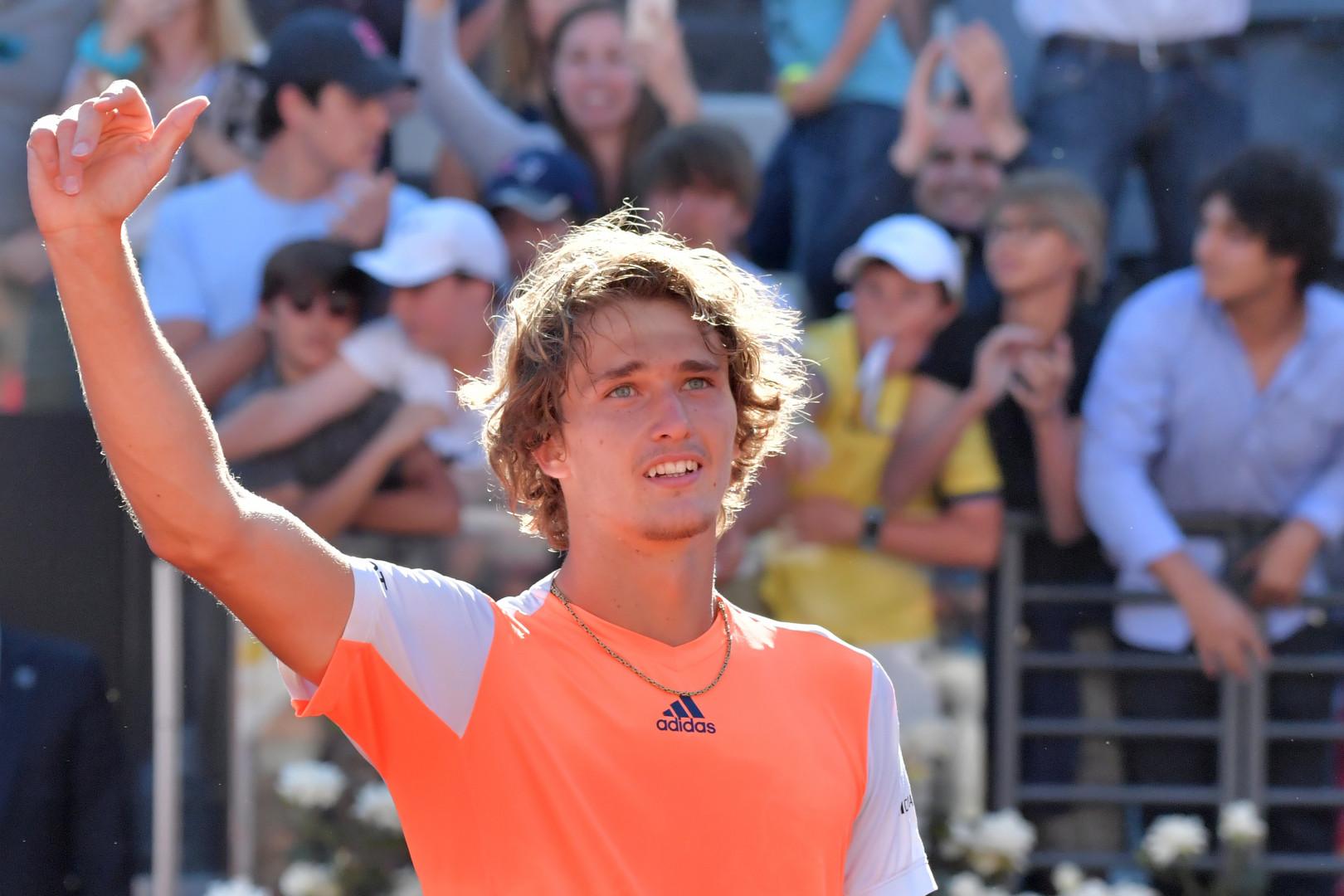 Alexander Zverev vient de remporter le Masters 1000 de Rome face à Novak Djokovic.
