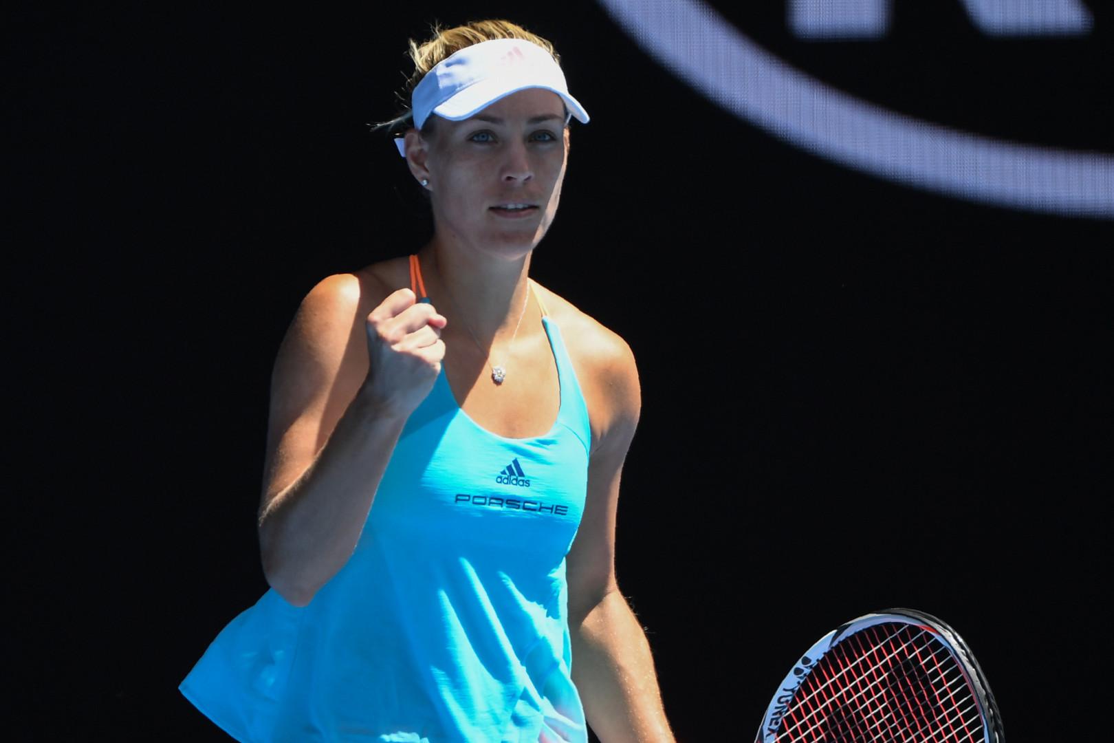 L'Allemande Angelique Kerber arrive à Roland-Garros avec le statut de numéro 1 mondiale.