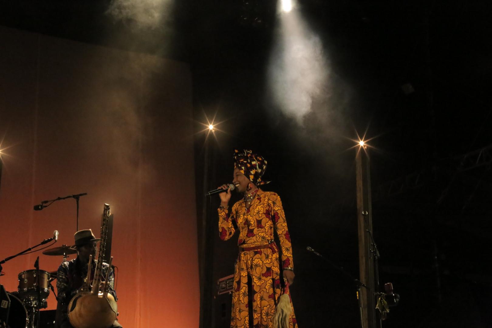 La malienne Fatoumata Diawara à la voix exceptionnelle