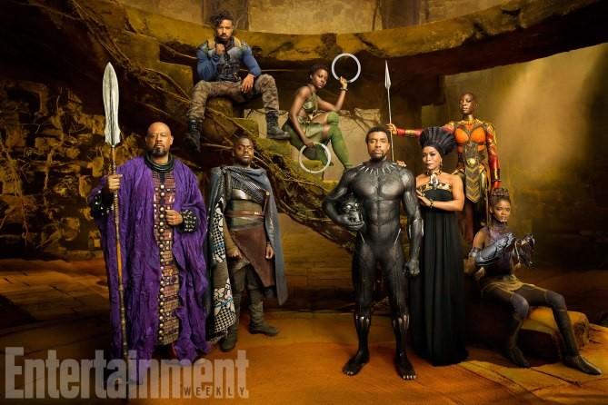 Les dirigeants du Wakanda