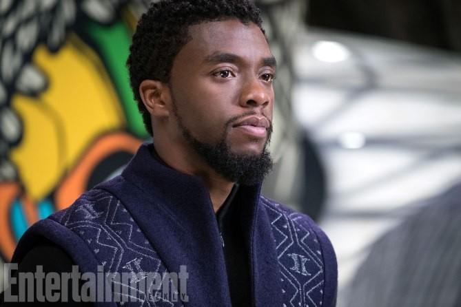 T'Challa sans son costume de Black Panther