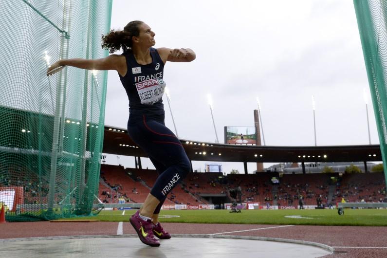 vice-championne olympique en titre du lancer de disque, Mélina Robert-Michon va tenter de s'offrir une deuxième médaille mondiale après l'argent gagnée à Moscou en 2013.