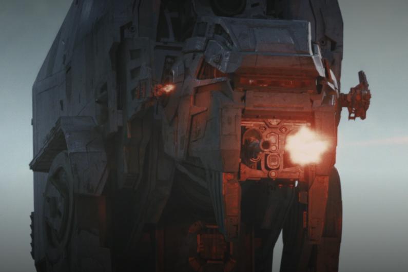 """Les nouveaux vaisseaux du Premier Ordre rappellent """"L'Empire contre-attaque"""""""